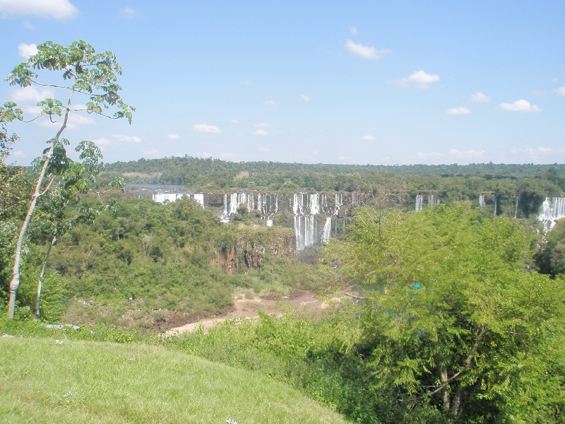 The Waterfalls at Puerto Iguazu Argentina Diary Information