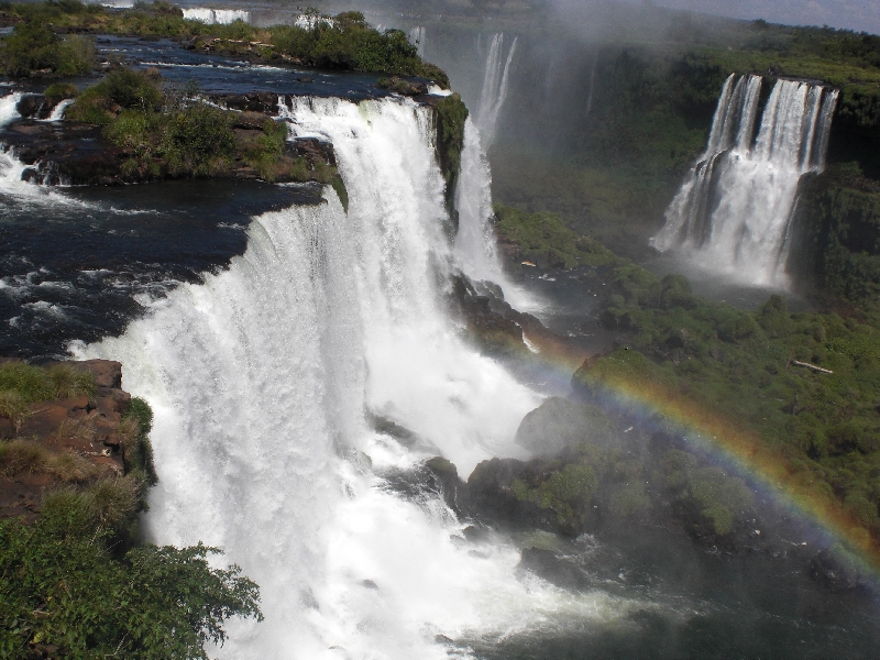 The Waterfalls at Puerto Iguazu Argentina Vacation Picture