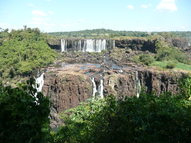 Photo The Waterfalls at Puerto Iguazu really