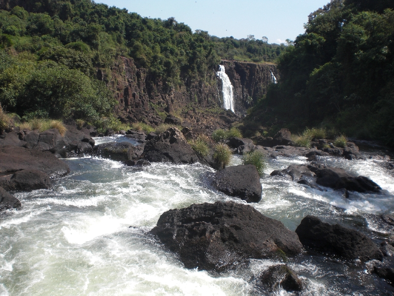 The Waterfalls at Puerto Iguazu Argentina Photo Gallery