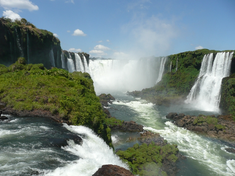The Waterfalls at Puerto Iguazu Argentina Holiday Review