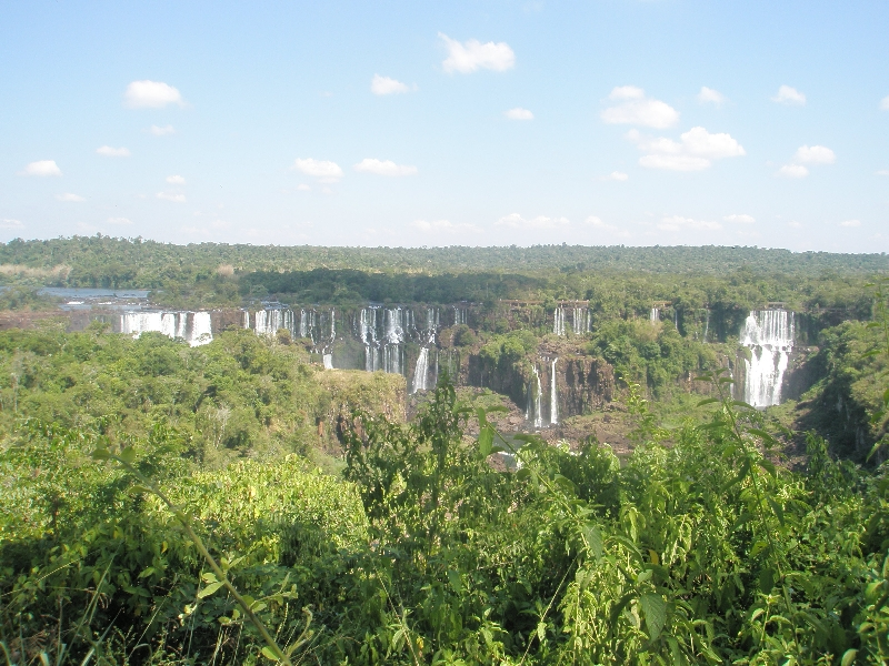 Photo The Waterfalls at Puerto Iguazu Compared