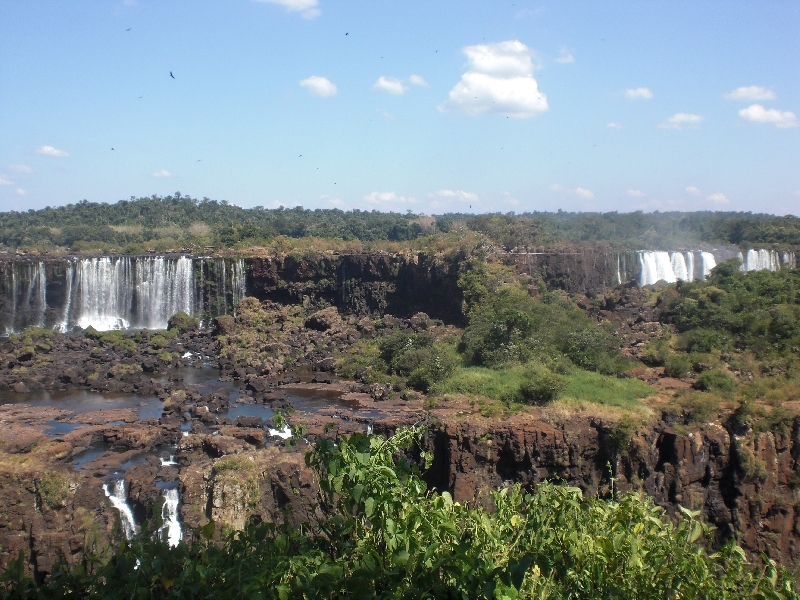 The Waterfalls at Puerto Iguazu Argentina Pictures