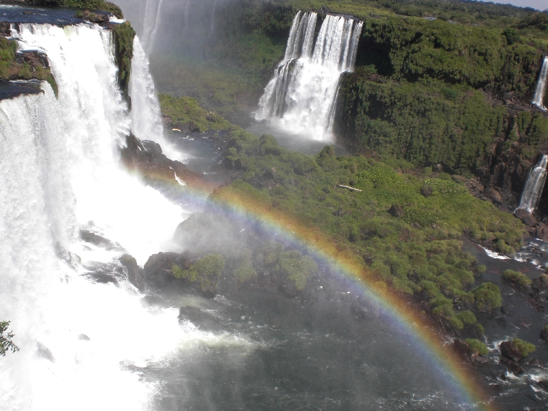 The Waterfalls at Puerto Iguazu Argentina Travel Picture