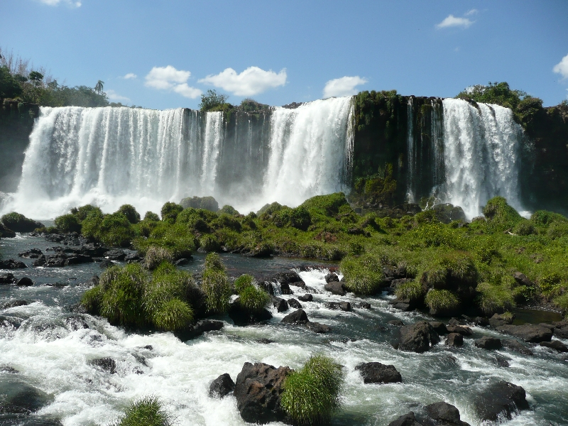Photo The Waterfalls at Puerto Iguazu climate