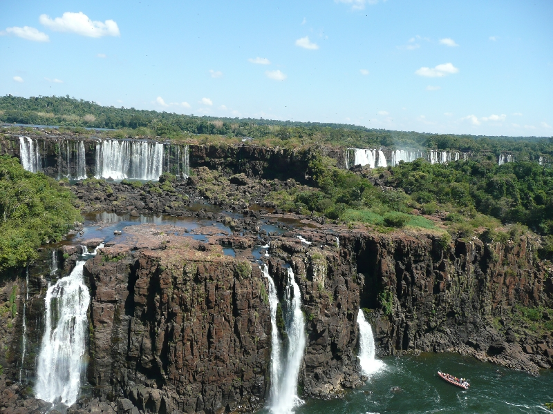 The Waterfalls at Puerto Iguazu Argentina Diary