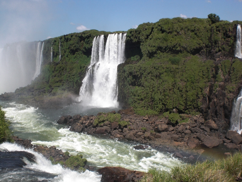 The Waterfalls at Puerto Iguazu Argentina Trip Photographs