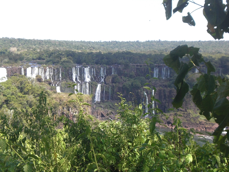 The Waterfalls at Puerto Iguazu Argentina Holiday Experience