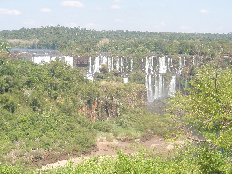 The Waterfalls at Puerto Iguazu Argentina Trip Vacation