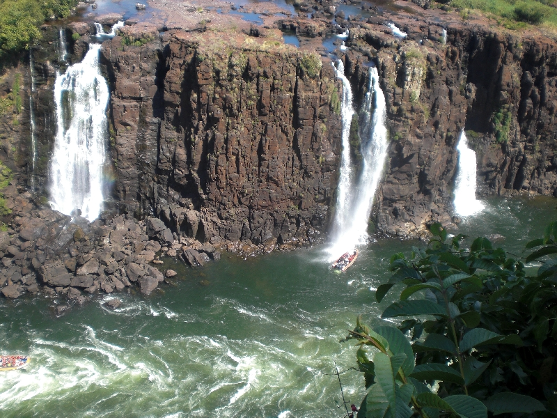 The Waterfalls at Puerto Iguazu Argentina Travel