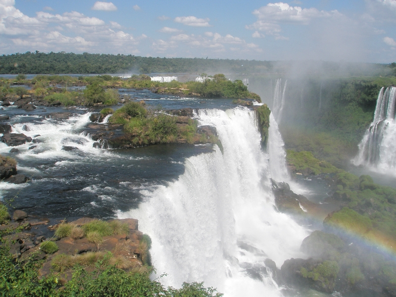 Photo The Waterfalls at Puerto Iguazu divide