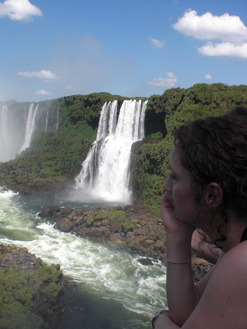 Photo The Waterfalls at Puerto Iguazu Argentinian