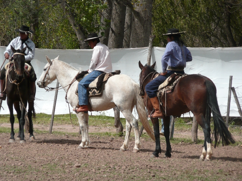 Horse Riding with Argentinian Gauchos in Salta Argentina Picture