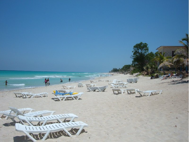 The sandy beaches of Varadero Cuba Diary