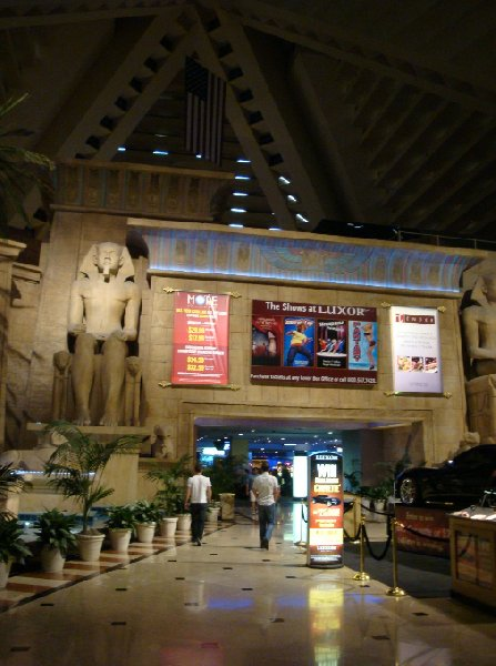 Inside Luxor Las Vegas United States North America
