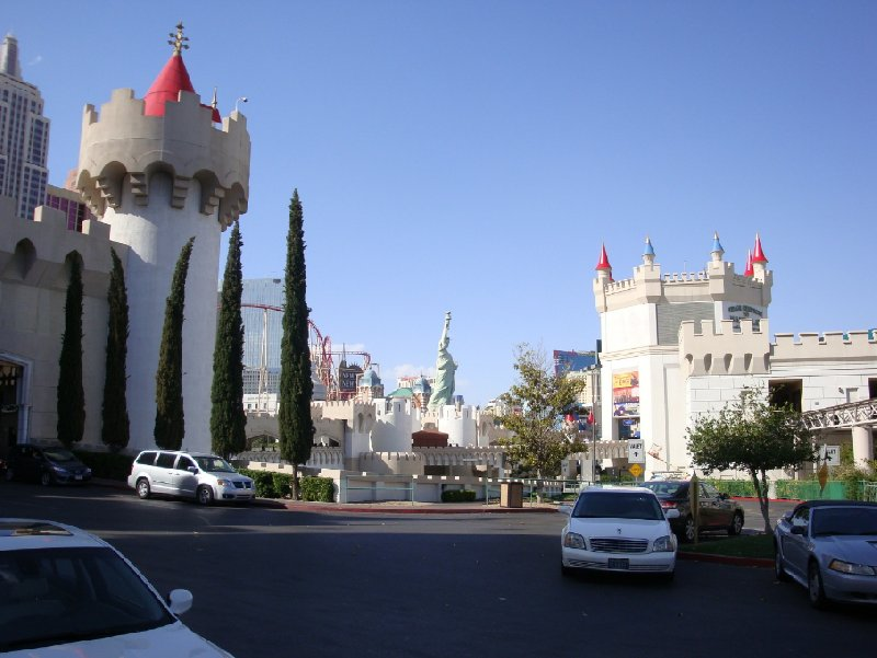 The Excalibur in Vegas, United States