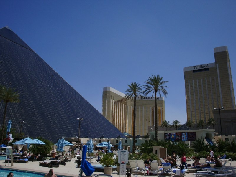 Pictures of the Luxor Hotel, United States