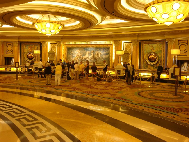 The lobby at Ceasar's Palace, Las Vegas United States
