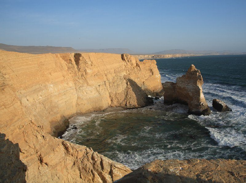 Reserva Nacional de Paracas near Pisco Peru Travel Picture