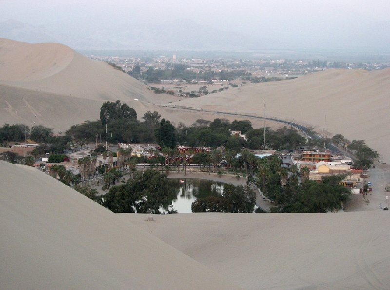 Huacachina Oasis Peru Ica Photos