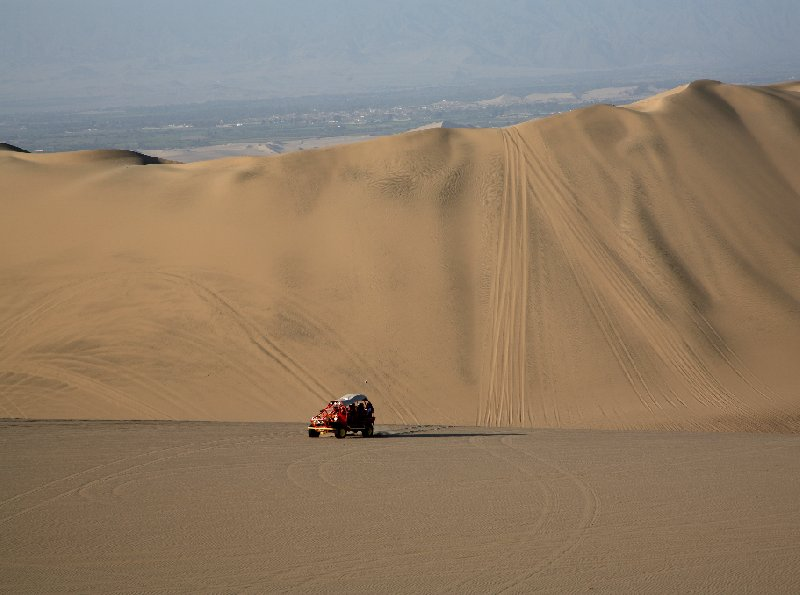 Huacachina Oasis Peru Ica Travel Pictures