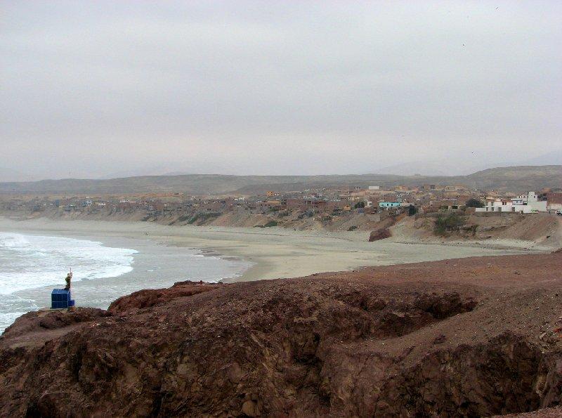 Photo Chala Peru village