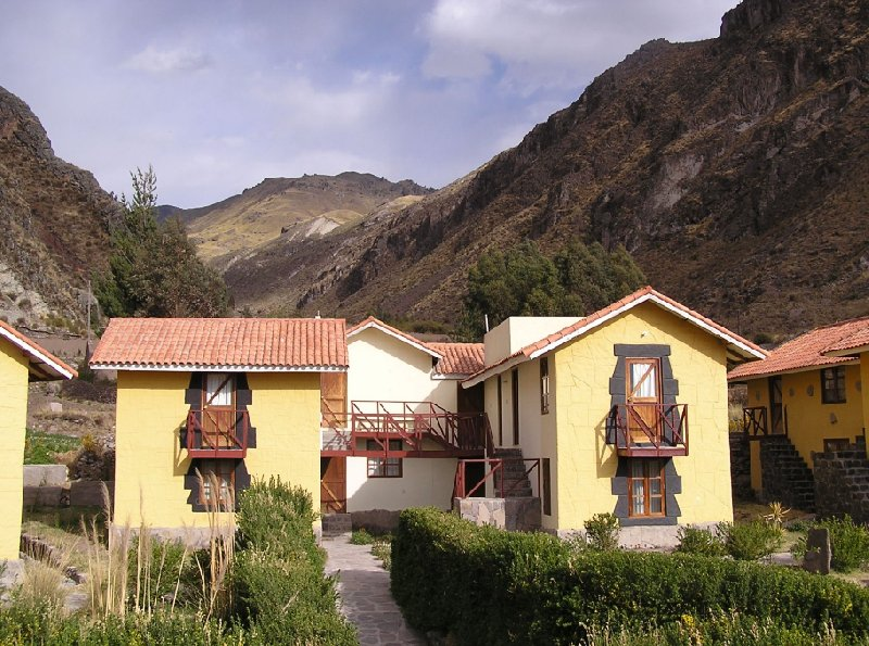From Arequipe to Chivay and Colca Canyon Peru Photo