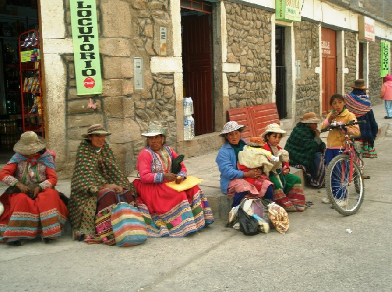 Chivay Peru Blog Sharing
