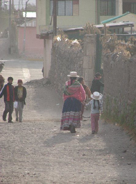 From Arequipe to Chivay and Colca Canyon Peru Album Pictures