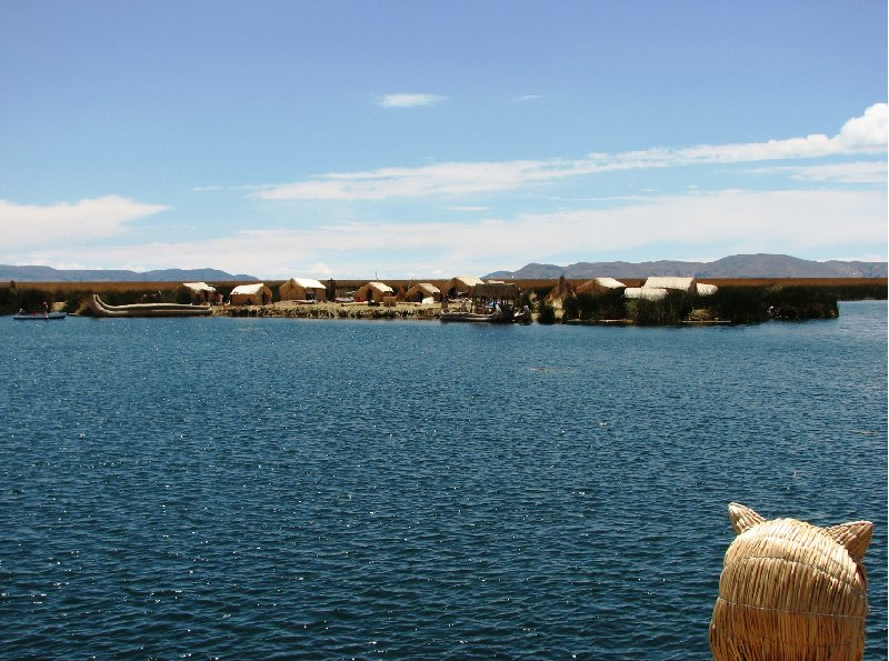 Puno floating islands Peru Blog Review