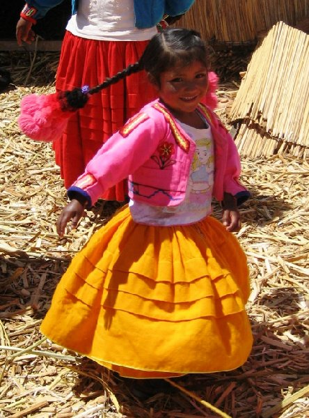 Puno floating islands Peru Diary Information