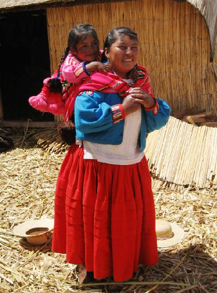 Puno floating islands Peru Vacation Picture