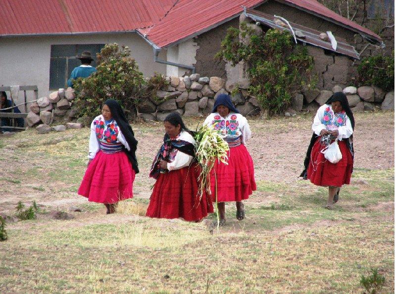 Isla Amantani Peru Trip Photographs