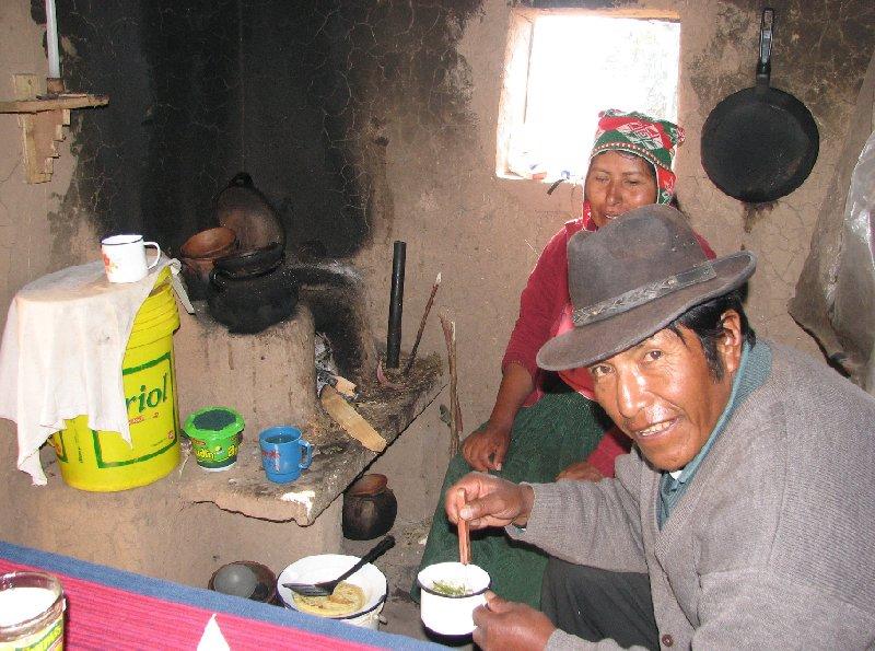 Isla Amantani Peru
