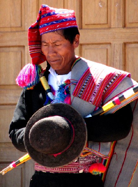Taquile Island Peru Travel Sharing