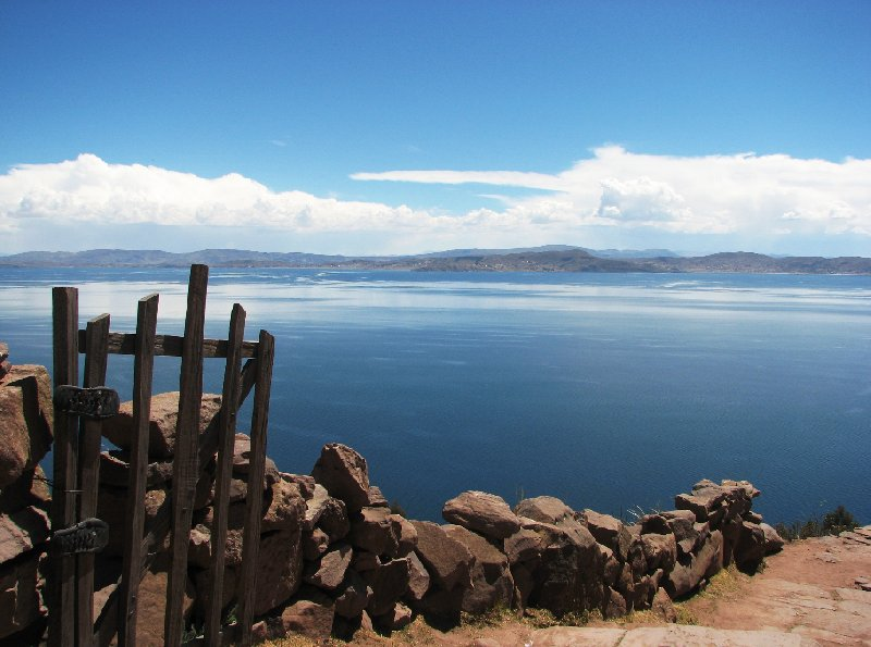 Photo Taquile Island Lake Titicaca visited