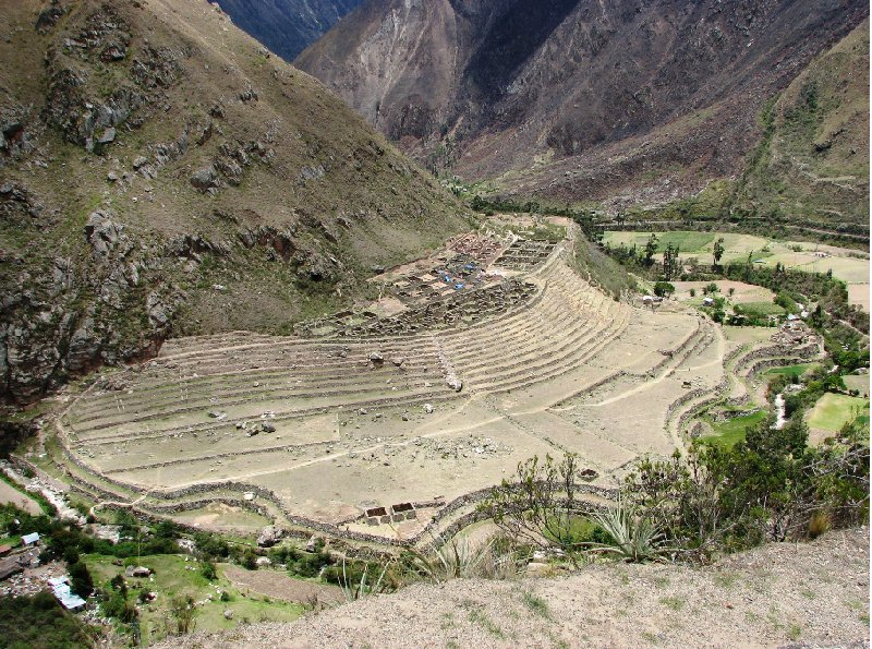 Photo Inca trail to Machu Picchu Mountain