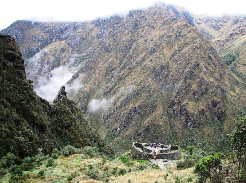 Photo Inca trail to Machu Picchu follow