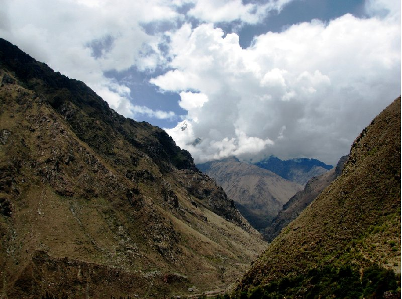 Photo Inca trail to Machu Picchu should