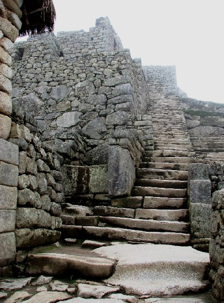 Photo Inca trail to Machu Picchu erosion