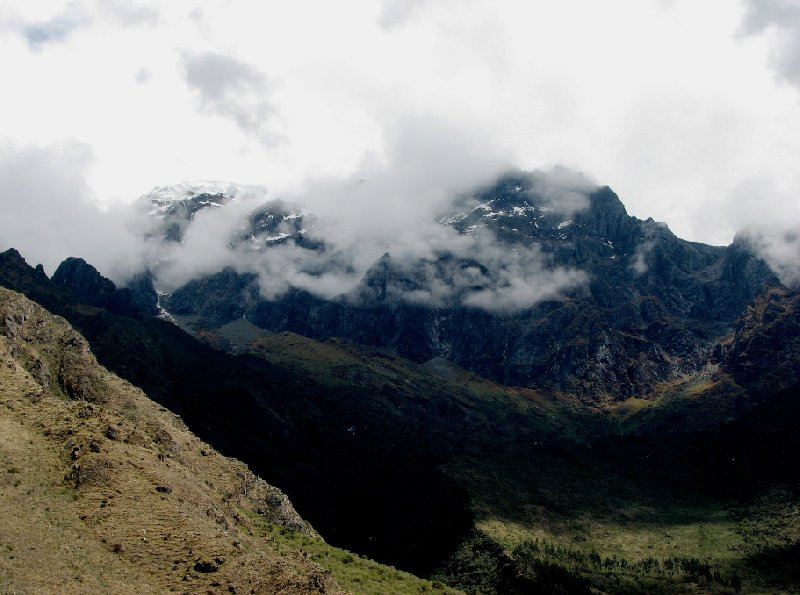 Photo Inca trail to Machu Picchu different