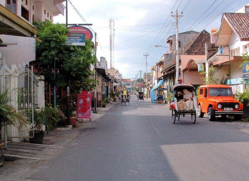 Travel to Yogyakarta Indonesia Photograph