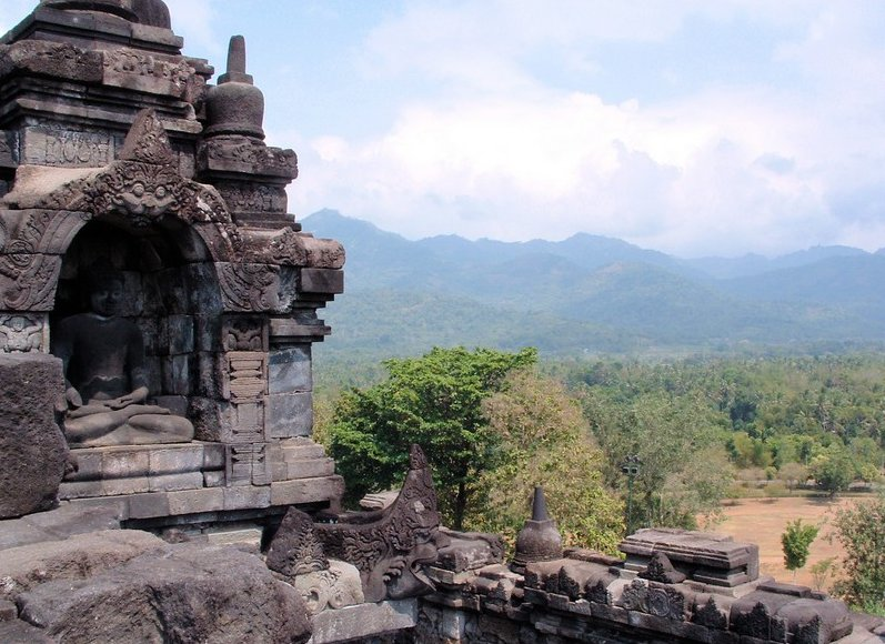 Borobudur buddhist temple Indonesia Travel Experience