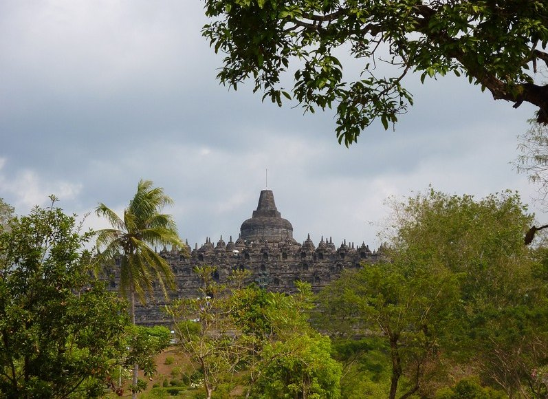 Borobudur buddhist temple Indonesia Vacation Adventure