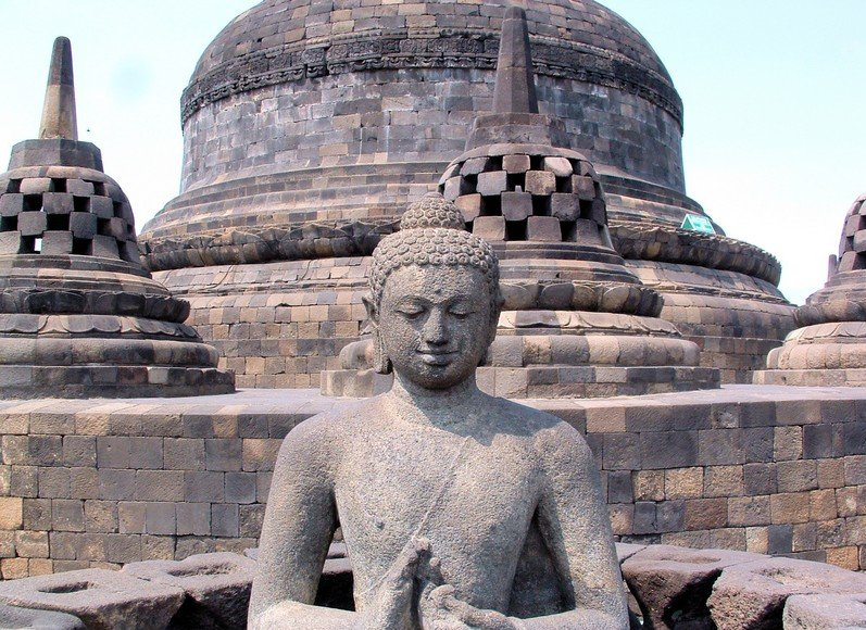 Borobudur buddhist temple Indonesia Travel Adventure