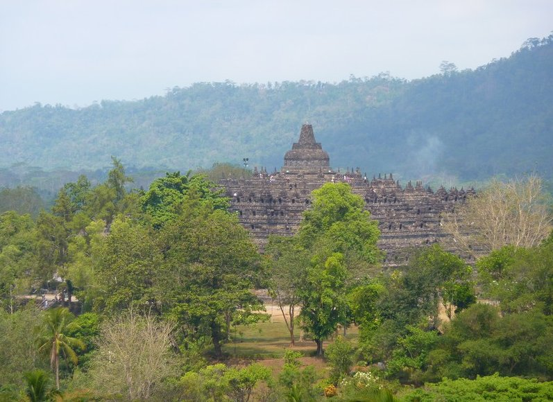 Borobudur buddhist temple Indonesia Travel Photo
