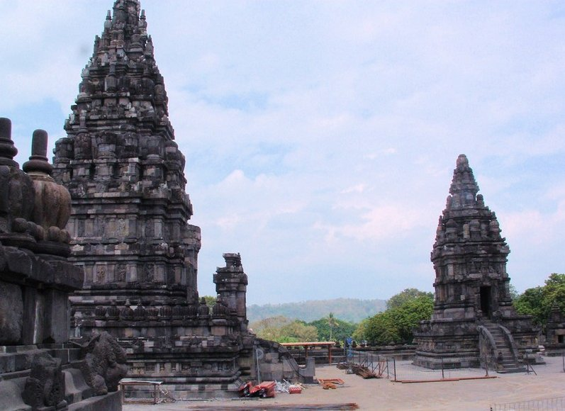 The Prambanan temple complex Indonesia Holiday Review