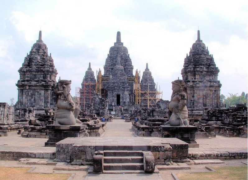 The Prambanan temple complex Indonesia Diary Tips