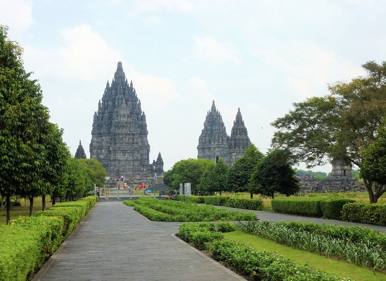The Prambanan temple complex Indonesia Travel Guide