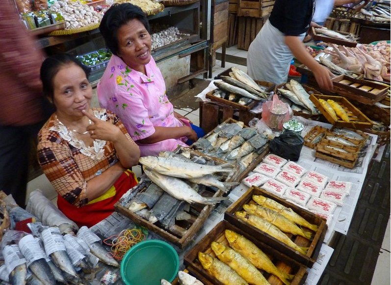 The market in Solo Surakarta Indonesia Travel Pictures